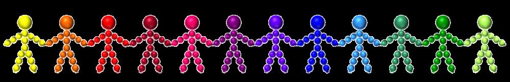 People Chain x 12